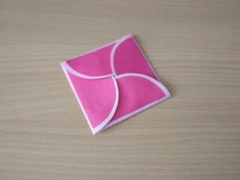 Circle Envelope Card Tutorial Infinity Explosion Box Card 7 By