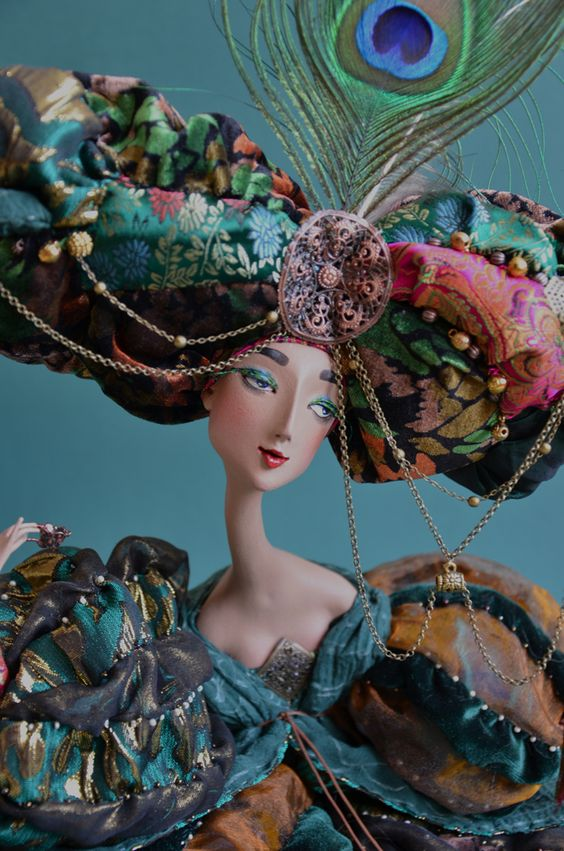 Art doll by Lada Repina: