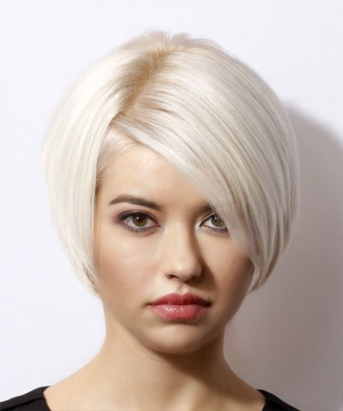 Magical Platinum Blonde Hair Color And Short Haircuts 2019 For