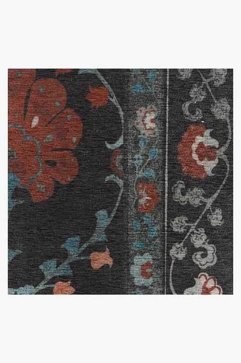 Sibel Raspberry Rug With Images Washable Area Rugs Rugs