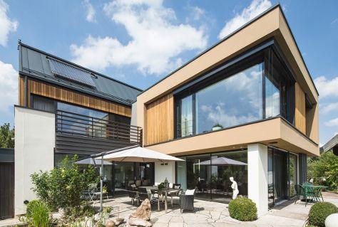 Wohnhaus gebaut von Syndikat AG Zimmerei www.syndikat-ag.de