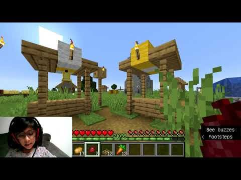 Minecraft Candy Corn Skin Game Play With Aliza Youtube New