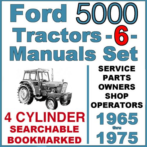 Ford 5000 Tractor Owners Manual Pdf 1 Tractors Owners Manuals Ford