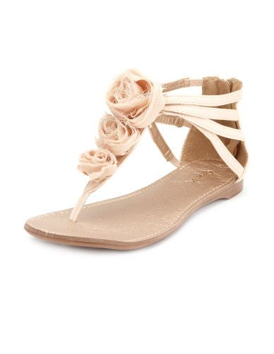 Gorgeous Rosette Flats For Your Wedding ON THE CHEAP