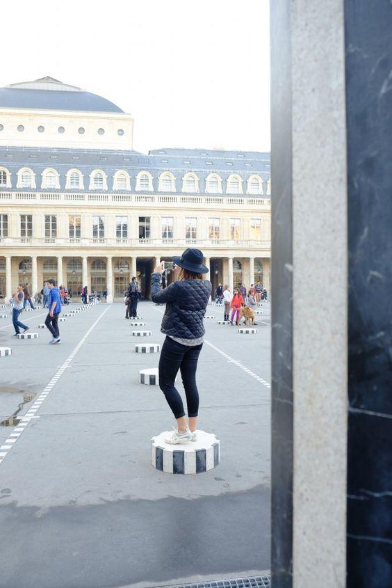 Palais Royal Colonnes de Buren Paris