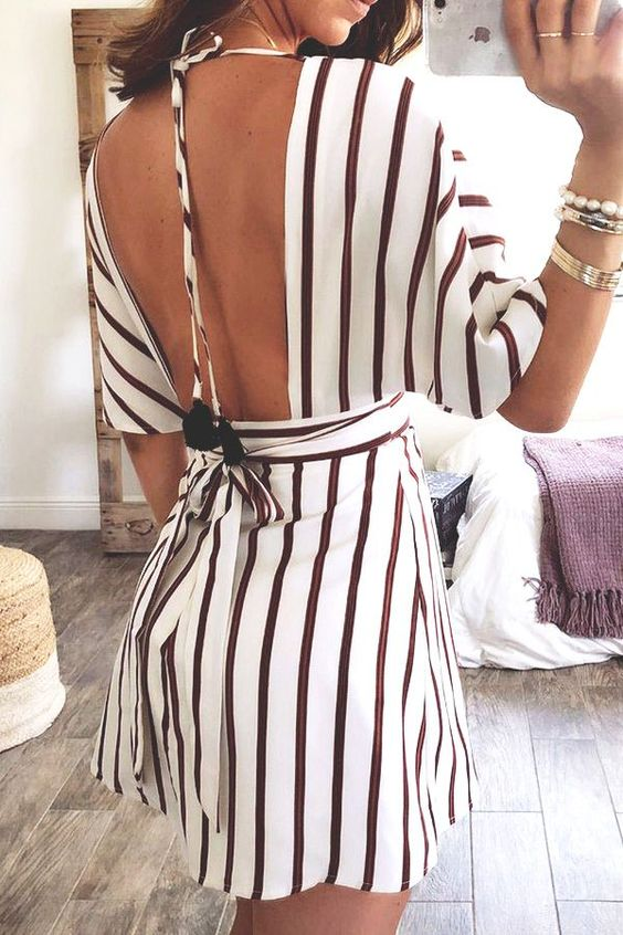 Trendy Stripes Outfits
