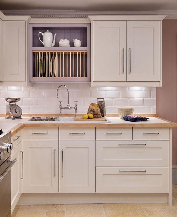 Shaker and classic shaker style kitchens kitchens for Painted shaker style kitchen cabinets