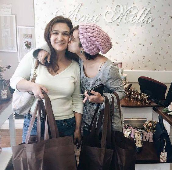 Dani e sua mãe <3