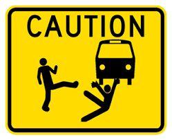 Thrown Under The Bus Cartoon thrown under the bus clip art - google ...
