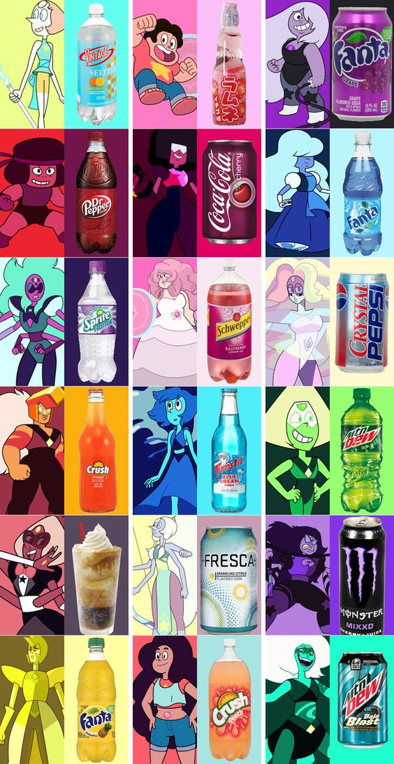 Gem Soft Drinks << it's funny BC sugilite is NIKKI minaj  who has a song called monster.The drink is monster too :3