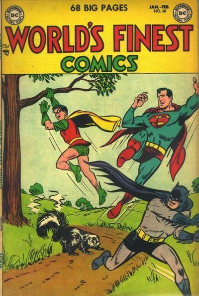 Superman National Comics, N 68 - ¨World´s Finest Comics.