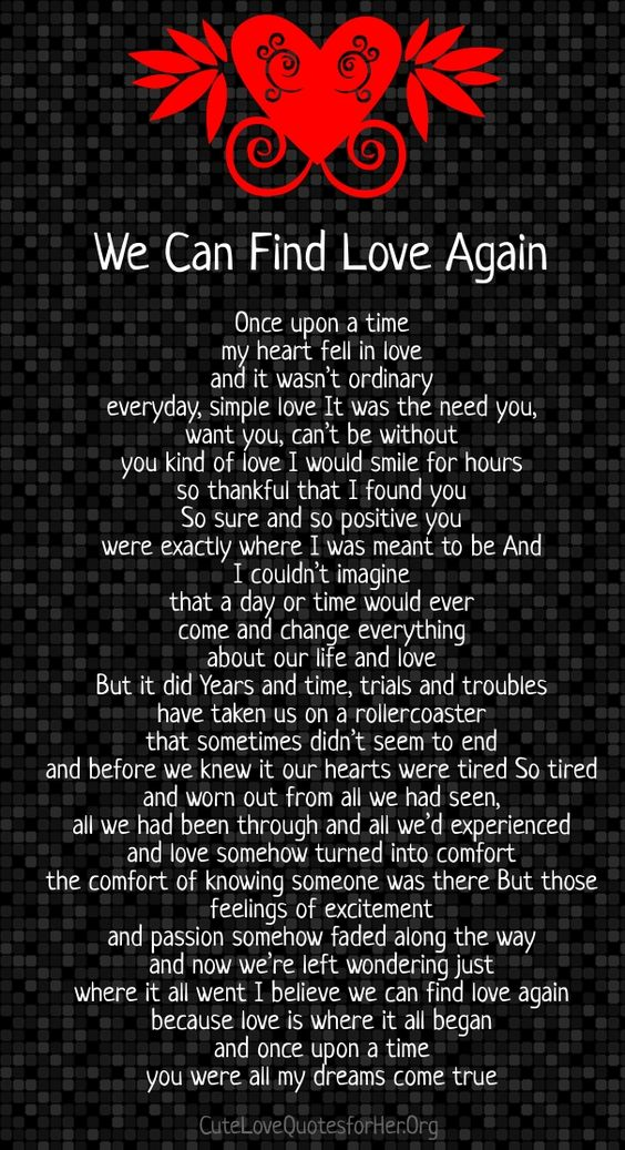 tough times relationship poems for her
