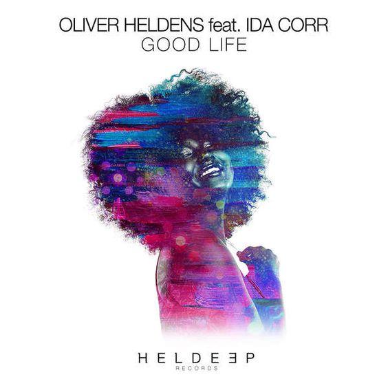 Oliver Heldens, Ida Corr – Good Life (single cover art)