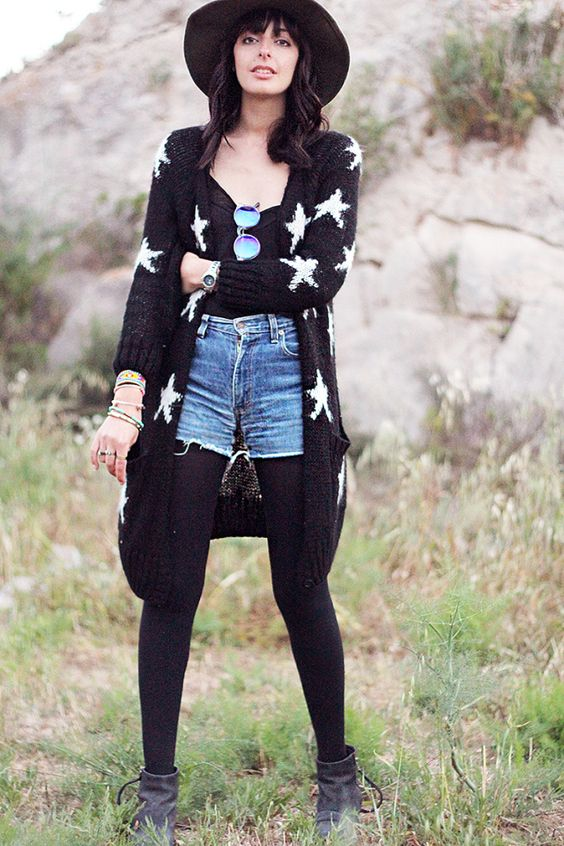 Bohemian, boho, hippie, hat, fedora, blogger, style, outfit
