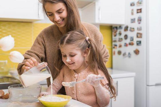 játékötletek konyhában gyerekekkel