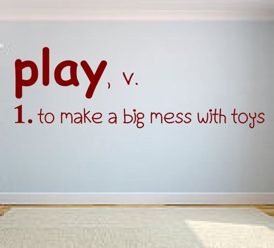play definition playroom vinyl wall decal vinyl