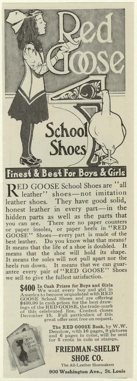 Red Goose school shoes