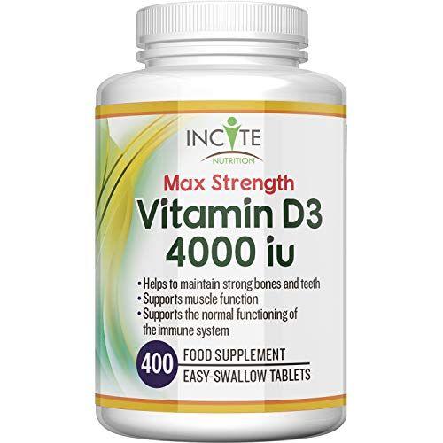Vitamin D 4000iu 400 Premium Vitamin D3 Easy Swallow Micro Tablets One A Day High Strength Cholecalciferol Vit D In 2020 Vegetarian Supplements Vitamins Vitamin D3