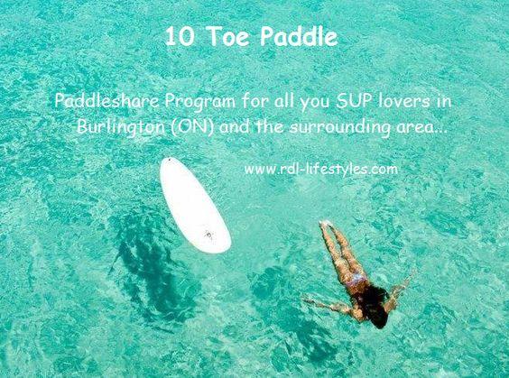 10 Toe Paddle Paddleboard Lifestyle