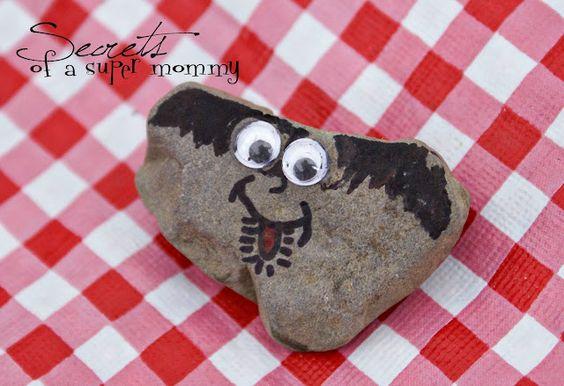 Pet-Rocks as camping crafts