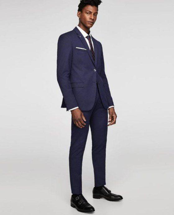 Zara anzug herren slim fit. | Anzug herren slim fit, Zara