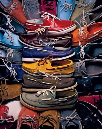 Boat shoes on boat shoes