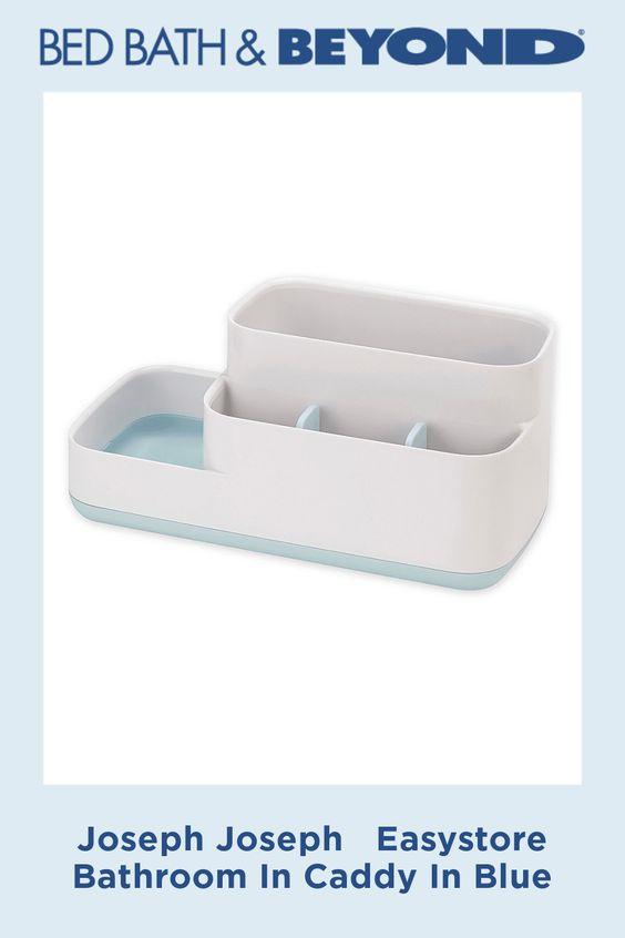 Joseph Joseph Easystore Bathroom In Caddy In Blue In 2020 Bathroom Caddy Bathroom Storage Joseph Joseph