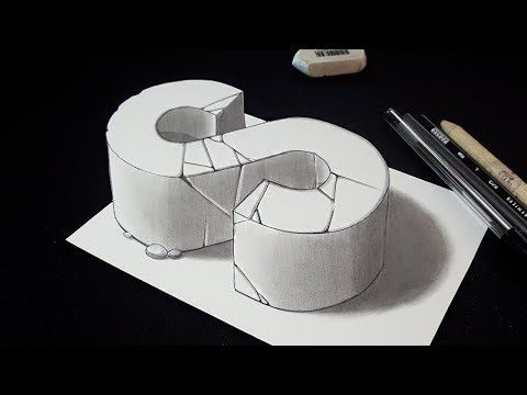 how to draw letter l drawing 3d letter l with pencil very easy for kids adults vamosart youtube 3d drawings 3d drawing techniques drawings how to draw letter l drawing 3d