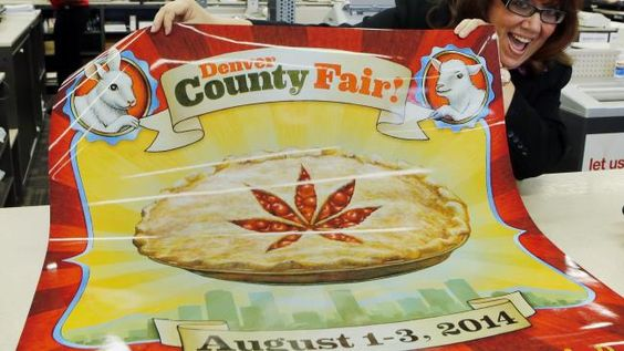 Colorado's Denver County is adding cannabis-themed contests to its 2014 summer fair. It's the first time pot plants will stand alongside tomato plants and homemade jam in competition for a blue ribbon.There won't actually be any marijuana at the fairgrounds. The judging will be done off-site, with photos showing the winning entries. And a live joint-rolling contest will be done with oregano, not pot. http://news.msn.com/offbeat/you-can-win-a-blue-ribbon-for-pot-at-the-county-fair-in-colorado