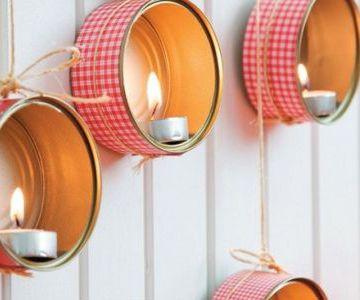5 ideas para decorar una lata con washi tape pintura o - Como decorar con washi tape ...