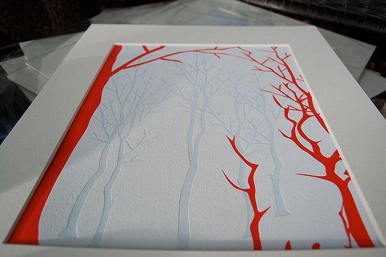 limited edition letterpress print by inside12fifteen,