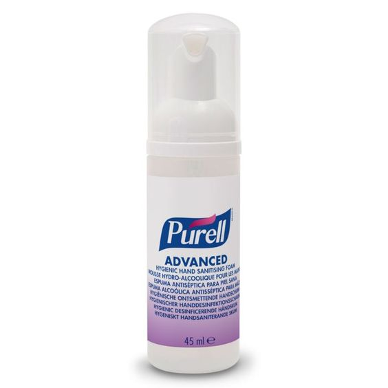Purell Hygienic Hand Sanitising Foam 45ml Pump Bottle 1 Bottle