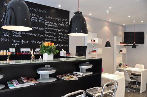 Nail bar  Salons  Pinterest  Bar, Varitas y Uñas