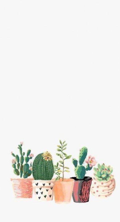 Trendy Succulent Cactus Wallpaper Ideas Succulents Wallpaper Iphone Background Cactus Print