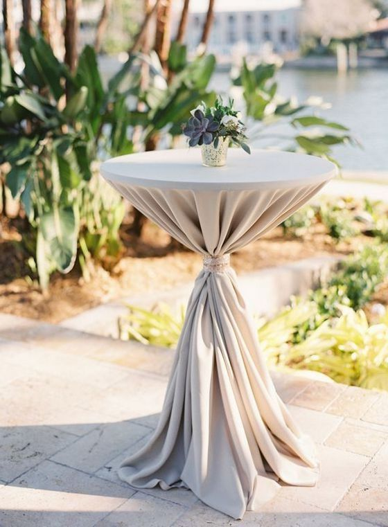 40 Incredible Ideas To Decorate Wedding Cocktail Tables Table Decor