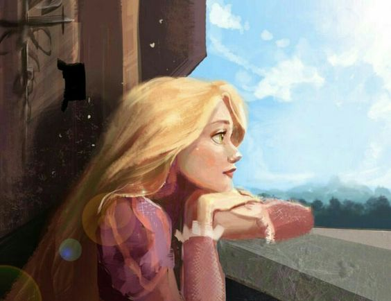 Beautiful Rapunzel fanart! <3: