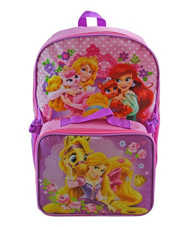 Another great find on #zulily! Disney Princess Backpack & Lunch Box Set #zulilyfinds