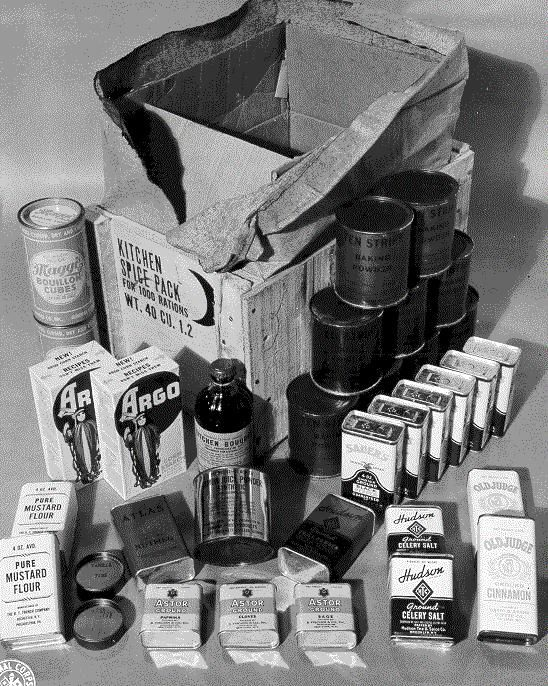 Us Army Rations World War Ii Props For Show Gabriel