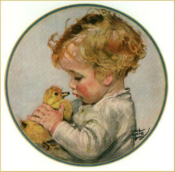 Fangel Maud Tousey: 'Duckling', 1924