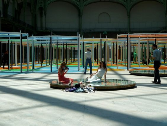MOMUMENTA 2012: Excentrique(s) de Daniel Buren au Grand Palais – Spectacle addictif | Blog Paris / United States of Paris
