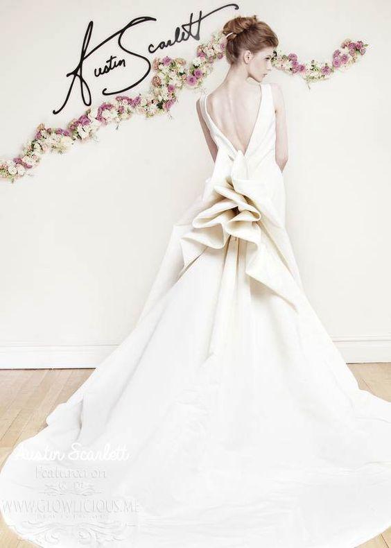 Austin Scarlett Spring 2016 Wedding Dresses Collection ~ GLOWLICIOUS