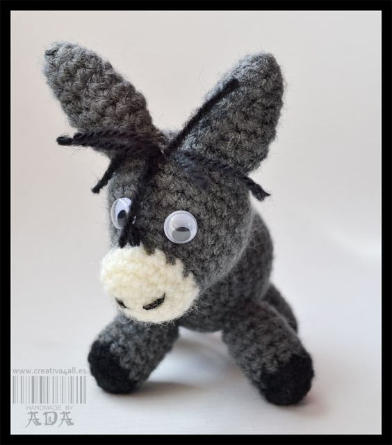 Free Dk Baby Knitting Patterns : Donkeys, Amigurumi and Free crochet on Pinterest