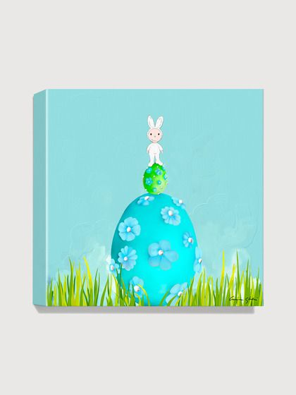 Antonia Press  Easter Eggs Canvas Print