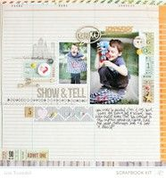 A Project by gluestickgirl from our Scrapbooking Gallery originally submitted 02/15/13 at 04:36 PM