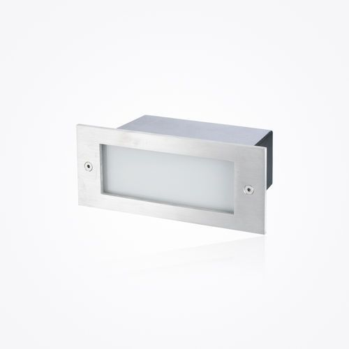 Recessed wall light fixture / LED / rectangular / linear ICARE Switch Made Van organization ...