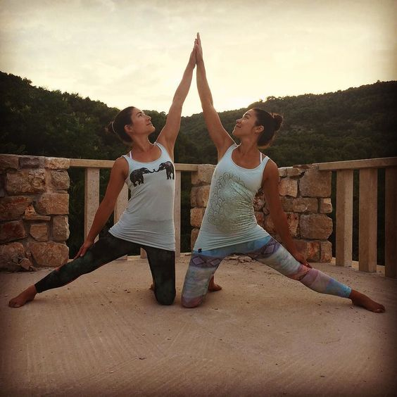 Big thanks to Jana from @yogainthecityhvar for another ass kicking retreat! All senses and elements challenged and stimulated; stunning coasts and woodsquality time with #family and #friends  yummy food and wine hardcore stretching and sweating  yoga tops to the test and lots of letting go and piss taking  Photo  by @belinda_ackerman photo inspired  by @awakenwithjp