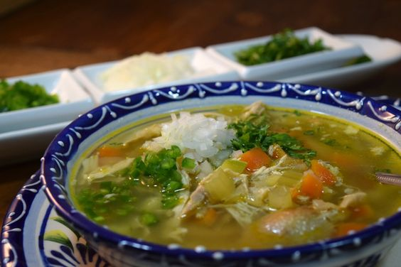 Mexican Chicken Soup/Caldo de Pollo