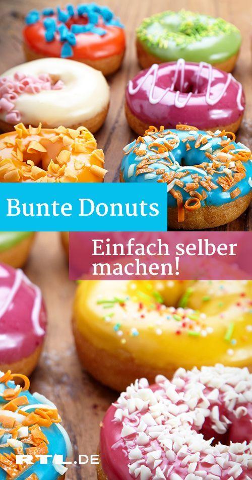 Donuts Einfach Selber Machen Das Extra Leckere Rezept Essen Und Trinken Rezepte Susses Fingerfood Sussgeback