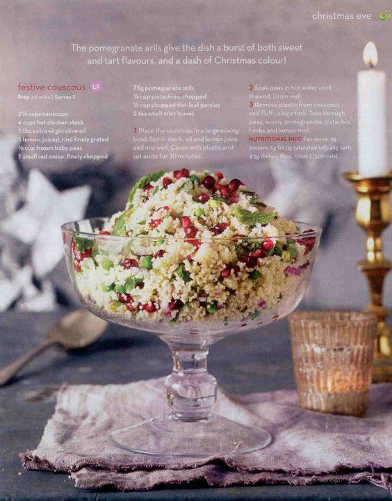Cranberry & Herb Cous Cous (Festive Cous Cous)