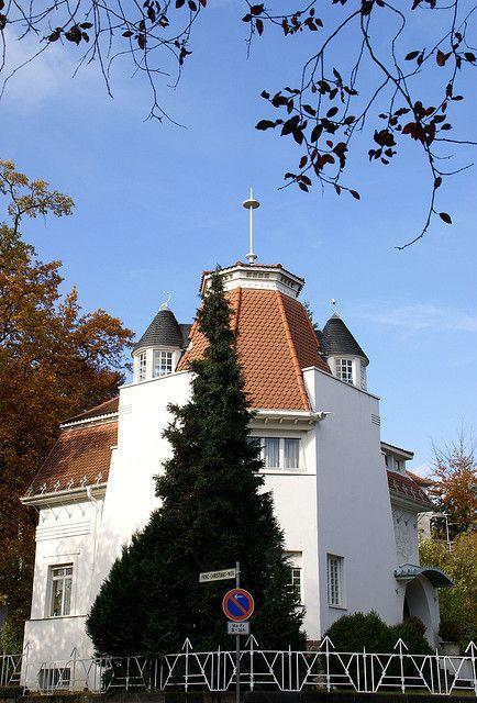 Darmstadt, Mathildenhöhe, Alexandraweg, Haus Deiters (House Deiters)   Flickr - Photo Sharing!